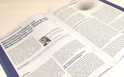 Artikel Künstliche Intelligenz und Maschinelles Lernen Hintergrund Anwendungsfälle und Chancen für Medienunternehmen