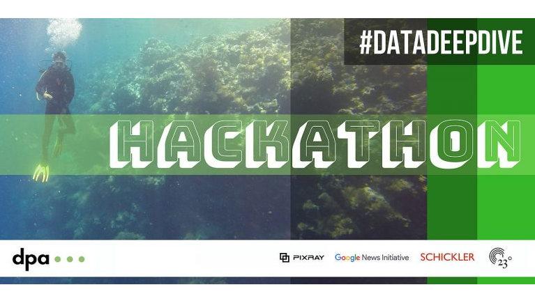 #DataDeepDive – dpa Hackathon mit Schickler Data Science Team