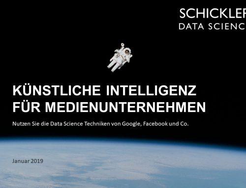 Schickler Einblick: Künstliche Intelligenz für Medienunternehmen