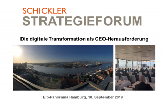 SCHICKLER Strategieforum 2019