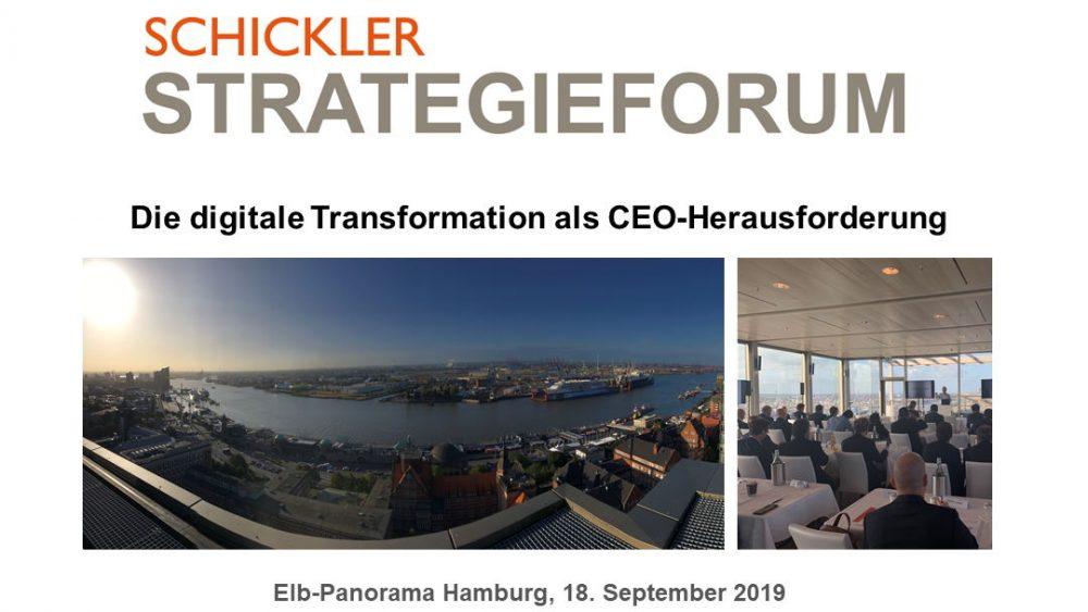SCHICKLER Strategieforum 2019
