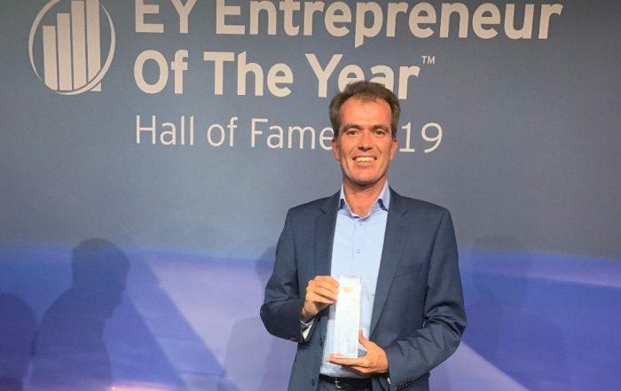 Rolf-Dieter Lafrenz: Entrepreneur of the Year 2019