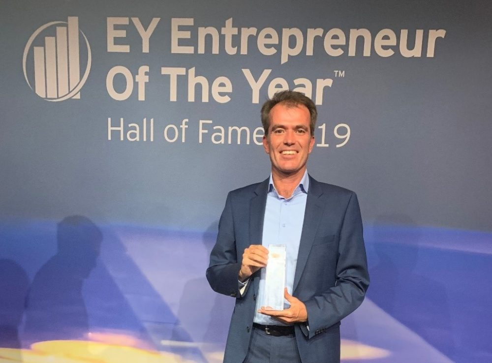 Rolf-Dieter Lafrenz: Entrepreneur of the Year 2019