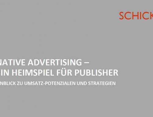Native Advertising – ein Heimspiel für Publisher