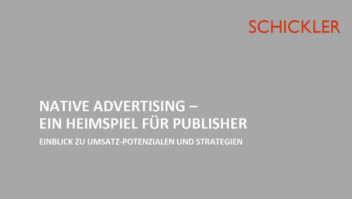 Native Advertising - ein Heimspiel für Publisher