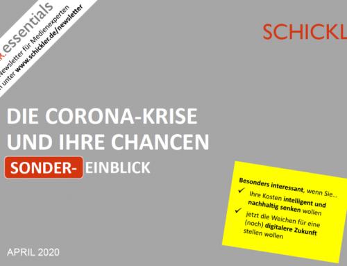 Die Corona-Krise und ihre Chancen – unser Sonder-EINBLICK
