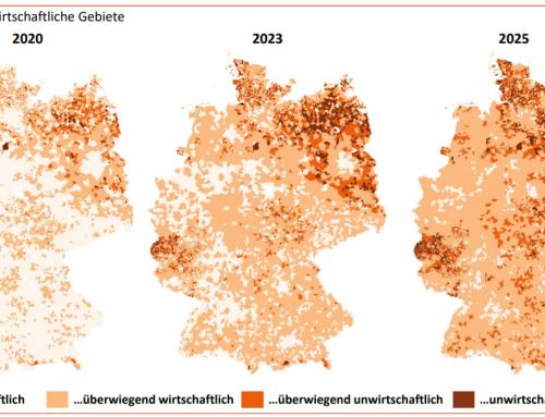 Standortanalyse der Zustellungen für Tageszeitungen in Deutschland – von SCHICKLER für den BDZV